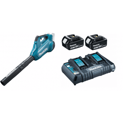 Makita DUB362PT2 18v Blower With Twin Charger & 2  BL1850