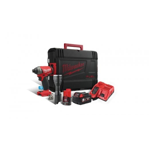 Milwaukee M18ONEPP2K-522K M18ONEID Impact Driver. M12MLED Torch Kit