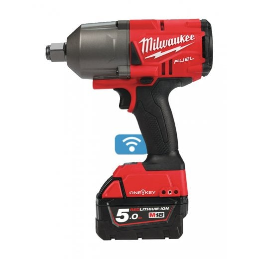 Milwaukee M18ONEFHIWF34-502X 18v 3/4 Impact Wrench 2 x 5.0ah Batteries