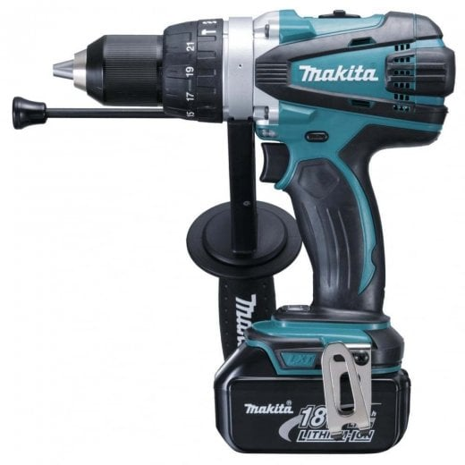 Makita DHP458RTJ 18V Combi Drill With 2 x 5.0amp Batteries + Charger + Makpac