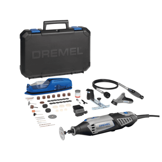Dremel F0134000JR 4000-4/65 Multi Tool Kit 4 Attachments 65 Accessories 240v
