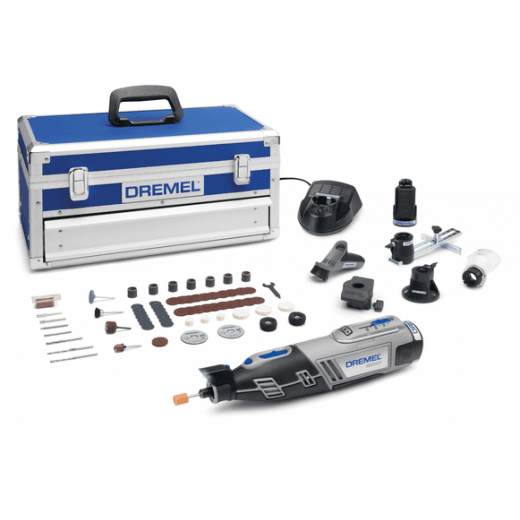 Dremel 8220-5/65 12v Cordless Multi Tool Kit 5 Attachments & 65 Accessories
