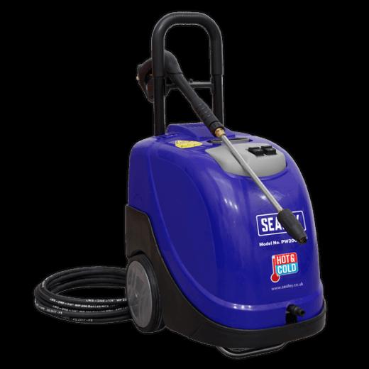 PW2000HW Hot Water Pressure Washer 135 Bar 240v