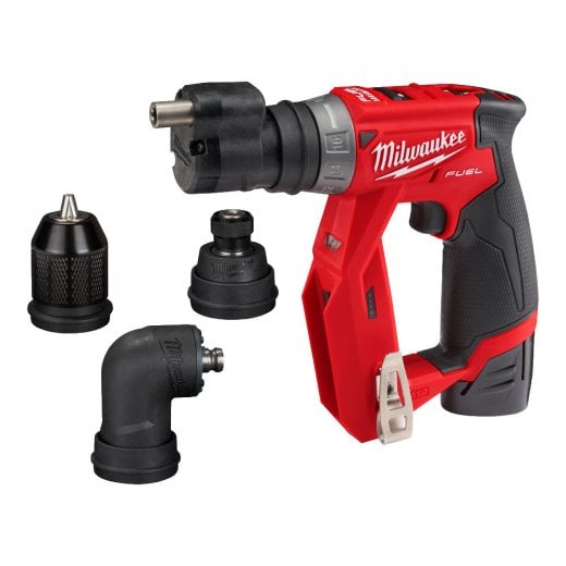 Milwaukee M12FDDXKIT-202X 12v Drill Driver Set With Removeable Heads