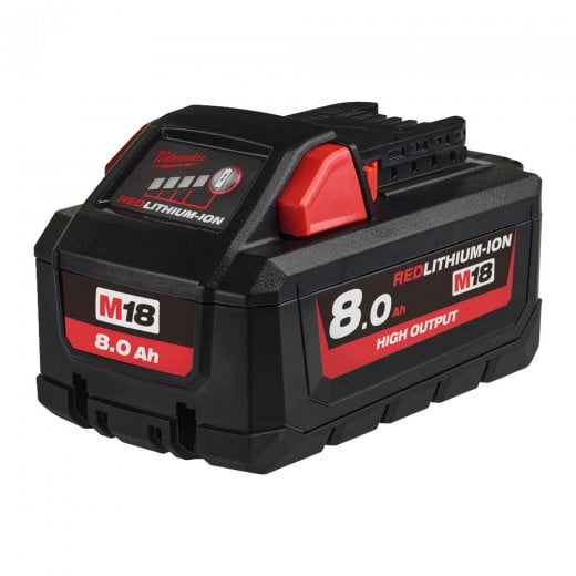 Milwaukee M18HB8 18v High Output 8.0Ah Li-ion Battery