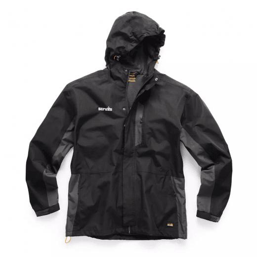 Scruffs Waterproof Lightweight Worker Jacket Black