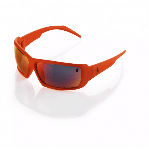 Scruffs Eagle Safety Specs Orange One Size