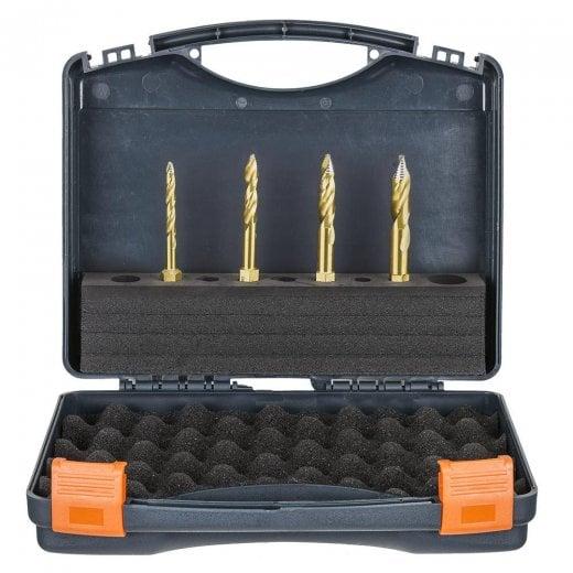 HMT 209015-SET1 VersaDrive TurboTip Impact Drill Bit Set 6, 8, 10, 12mm