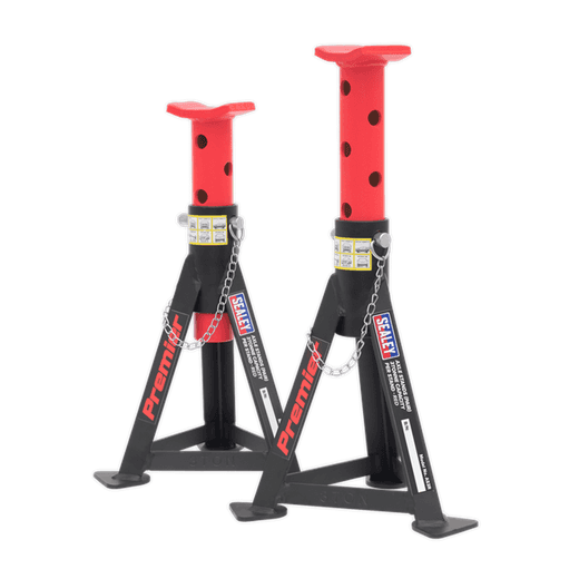 Sealey AS3R 3 Tonne Axle Stands Sold As Pair