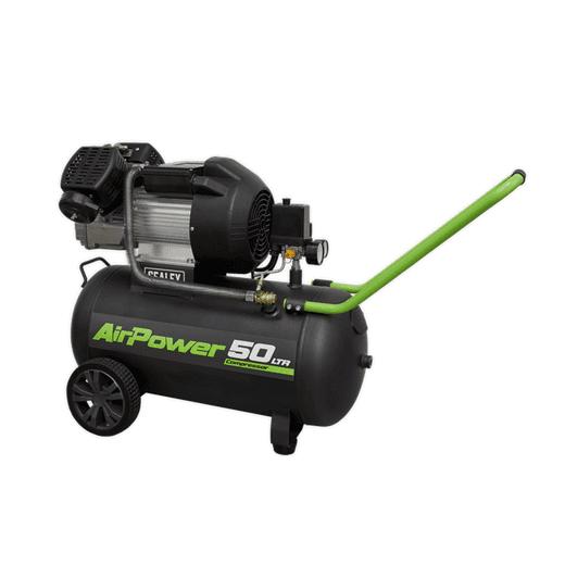 Sealey SAC5030VE Compressor 50L V-Twin Direct Drive 3hp