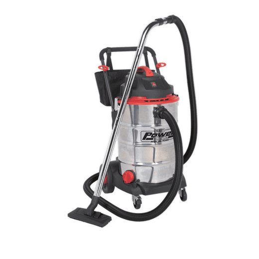 Sealey PC460 Vacuum Cleaner Wet & Dry 60L