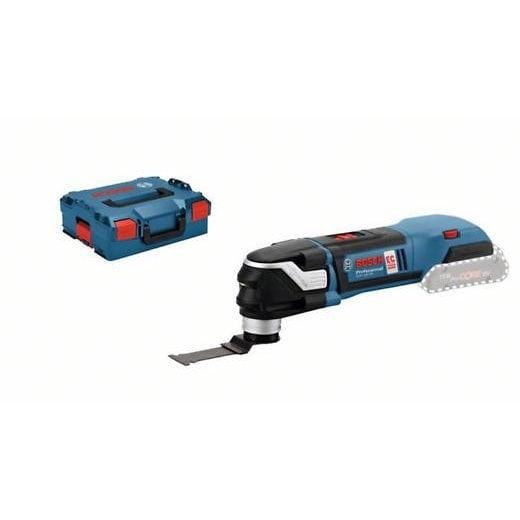 Bosch GOP18V-28 +ALZ 32APB 18v Cordless Multi Tool Body Only In L-Boxx Case