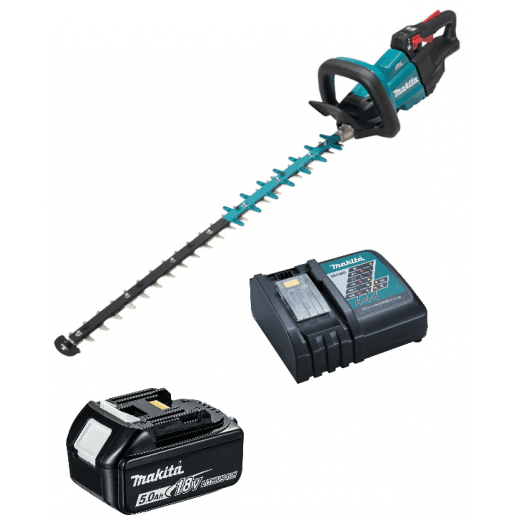 Makita DUH751RT 18v Hedgetrimmer 75cm Blade With BL1850 & Charger