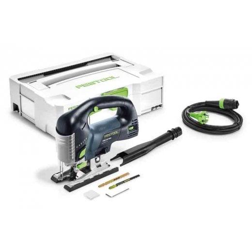 Festool PSB420EBQ-Set 110V Pendulum Jigsaw GB CARVEX