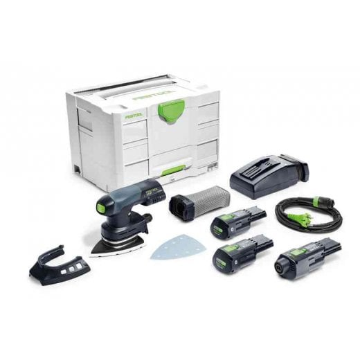 Festool DTSC400 Li 3,1 I-Set 18v Cordless Delta Sander Set 575705