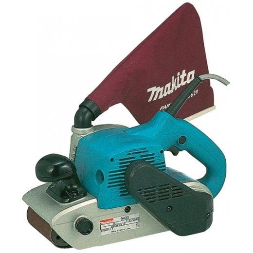 "Makita 9403 4"" 100mm Belt Sander 100mm x 610mm Discs"