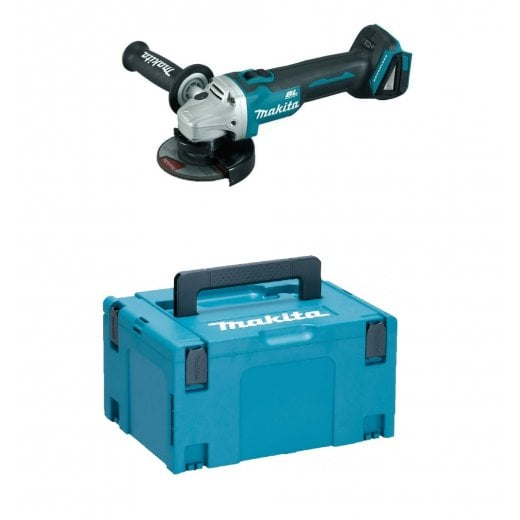 Makita DGA456ZJ 18v 115mm Cordless Grinder Body Only In Makpac Case