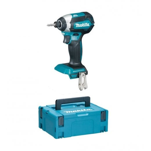 Makita DTD153ZJ 18v Cordless Brushless Impact Driver Body Only In Makpac Case