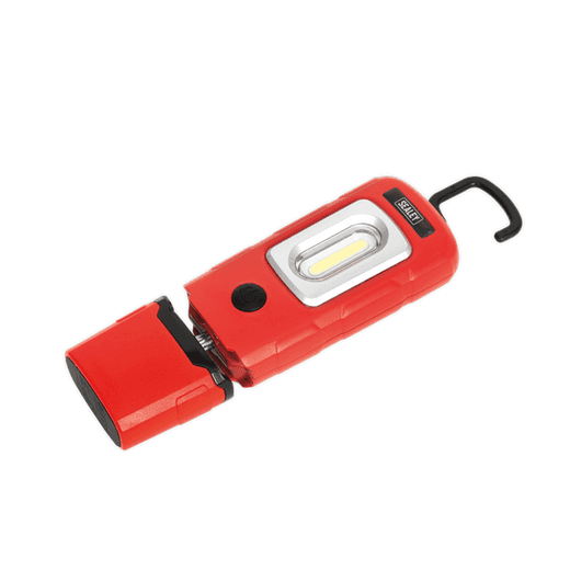 Sealey LED3601R Rechargeable 360° Inspection Lamp 3W COB + 1W LED