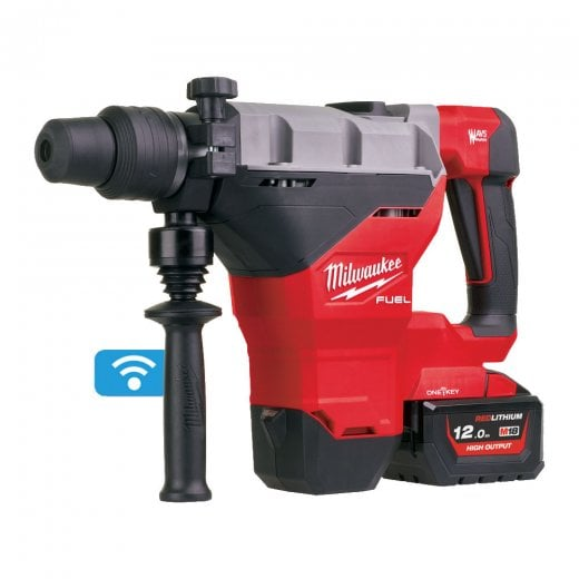 Milwaukee M18FHM-121C 18v Sds Max 8kg One Key Hammer Drill 1 x 12.0ah Battery