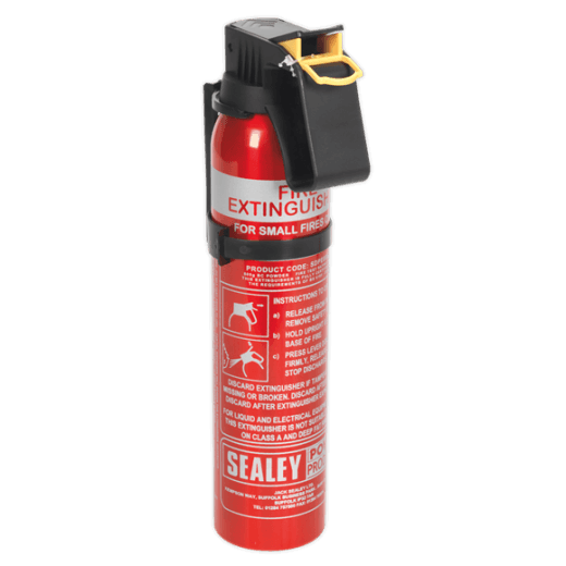 Sealey SDPE006D Dry Powder Fire Extinguisher 0.6kg