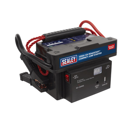 Sealey RS102C RoadStart® Compact Jump Starter 12V 1200A