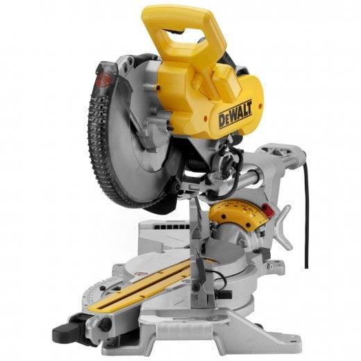 Dewalt DWS727-GB 250mm Double Bevel Sliding Mitre Saw 240v Uk Plug