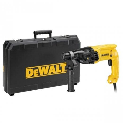 Dewalt D25033K-LX 110V 22mm Sds Plus Hammer Drill In Carry Case