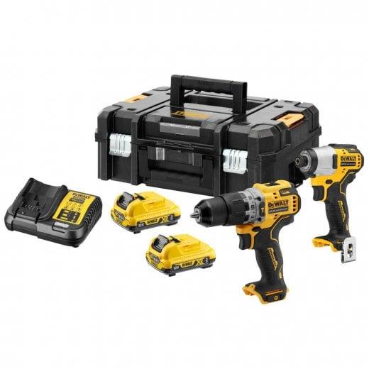 Dewalt DCK2111L2T-GB 12v XR Brushless Twin Kit 2 x 3.0ah Batteries