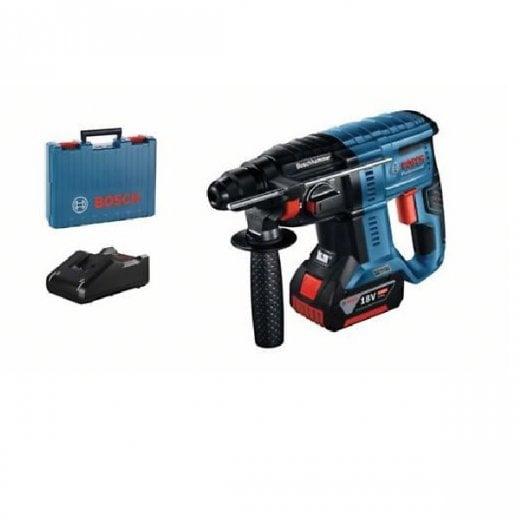 Bosch GBH18V-26 18v Cordless Sds Hammer Drill 1 x 5.0ah Battery Charger Case