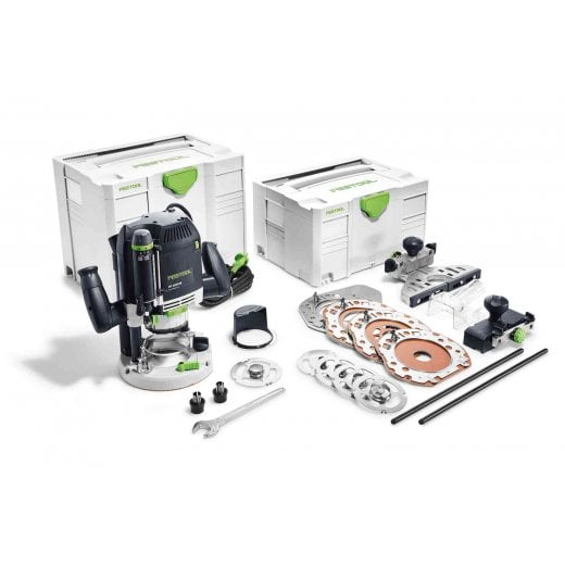 Festool OF2200EB-Set GB 1/2 Plunge Router In Systainer SYS 4 T-LOC 240v