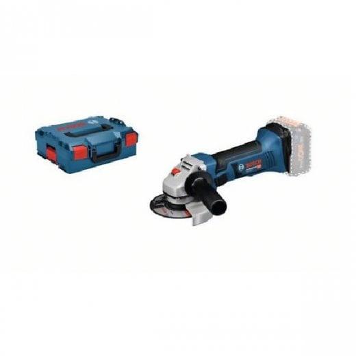 Bosch GWS18-125V-LI 18v 125mm Cordless Angle Grinder Body Only In L-boxx