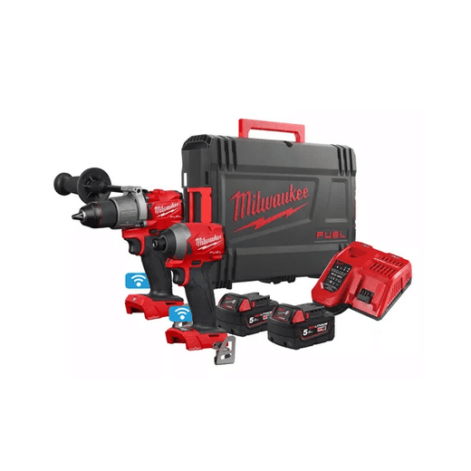 Milwaukee M18ONEPP2A2-502 One Key 18v Twin Pack Kit