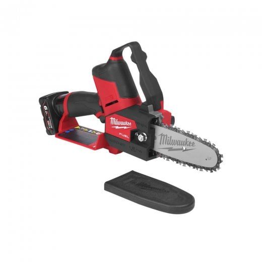 Milwaukee M12FHS-602X 12v Cordless Pruning Chainsaw Fuel Hatchet 2 x 6.0ah Batteries + Charger