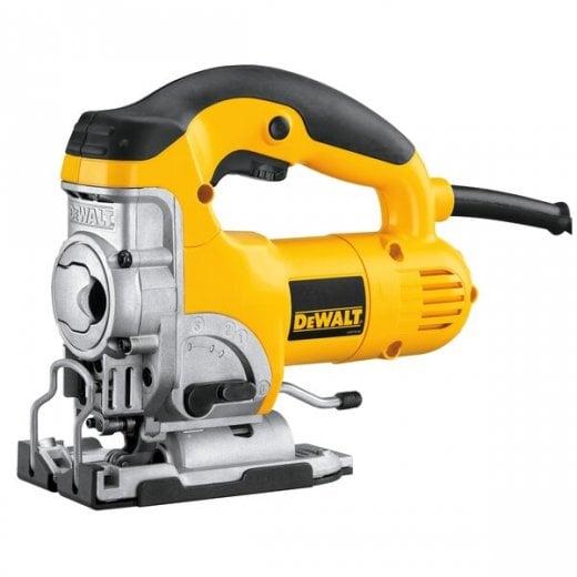 Dewalt DW331K-GB 110v Top Handle Jigsaw 16amp Yellow Plug 701 Watt