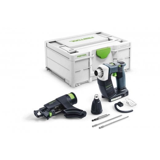Festool DWC18-2500 18v Cordless Duradrive Construction Screwdriver With Free Battery