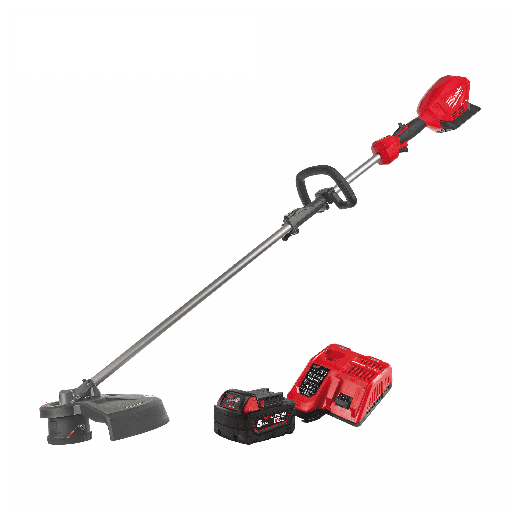 Milwaukee M18FOPHLTKIT-501 18v Power Head and Line Trimer With Battery & Charger