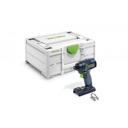 Festool TID 18 Basic 18v Impact Driver Bare Unit In Systainer Free 4.0ah Battery 577054