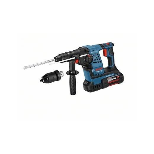 Bosch GBH36VF-LI Plus 36v Cordless Sds Rotary Hammer Drill 2 X 6.0ah Batteries In Case