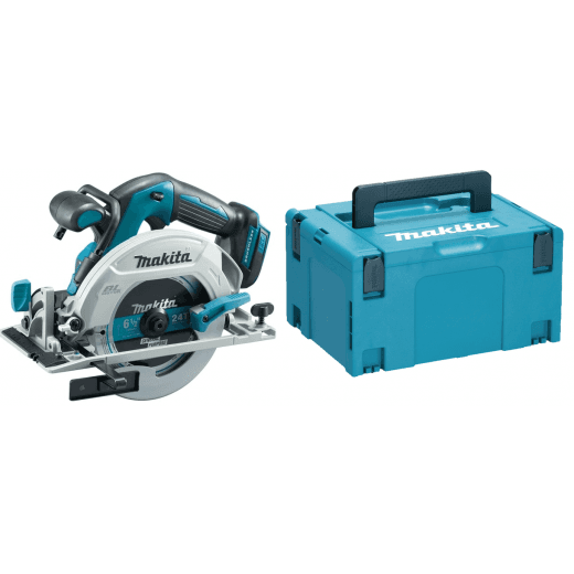 Makita DHS680ZJ 18v Brushless Circular Saw 165mm Body Only In Makpac Case