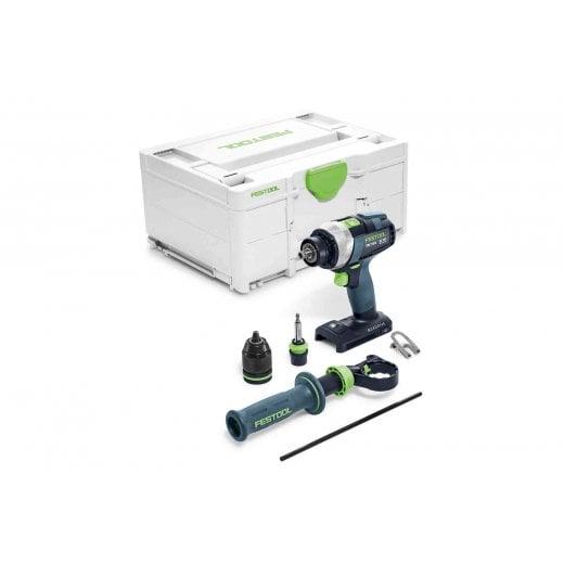 Festool TDC18/4 L-Basic 18v Cordless Quadrive Cordless Drill Bare Unit 1 x 5.2ah Battery FOC