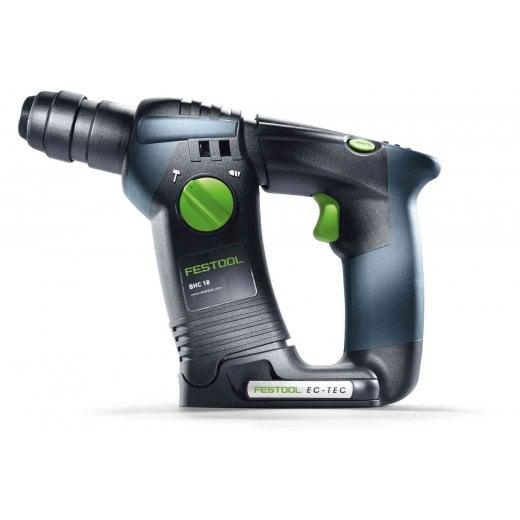 Festool BHC18 HPC 4,0 I-Plus 18v Cordless Sds Hammer Drill Kit 2 x 4.0ah Batteries