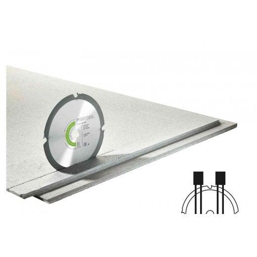 Festool 205558 160mm Diamond Circular Saw Blade For Abrasive Material 4 Tooth