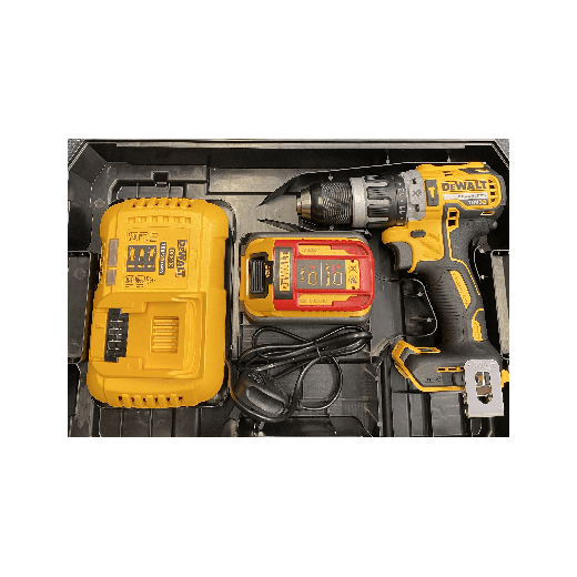 Dewalt DCD796T1T-GB 18v Cordless Brushless Combi Drill 1 x 6.0ah Li-on Battery, Charger & Case