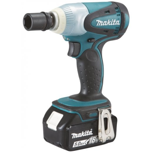 Makita DTW251RTJ 18v Cordless 1/2 Impact Wrench Kit 2 x 5,0ah Batteries, Charger + Case