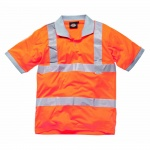GO/RT Polo Shirt Hi Visibility Orange