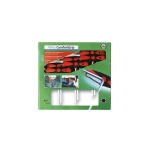 Hex driver set with comfort grip 6 pieces blister packed
