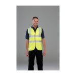 Highway Safety Waistcoat Saturn Yellow