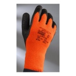 TNG THERMAL GLOVE BLACK/ORANGE SIZE9