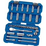"3/8"" Drive 33 Piece Socket Set"